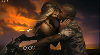 Kim Goes Completely Topless in Kanye 's New Video Bound 2'.