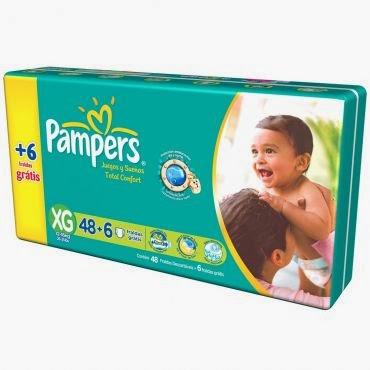 Fralda Pampers Total Confort G