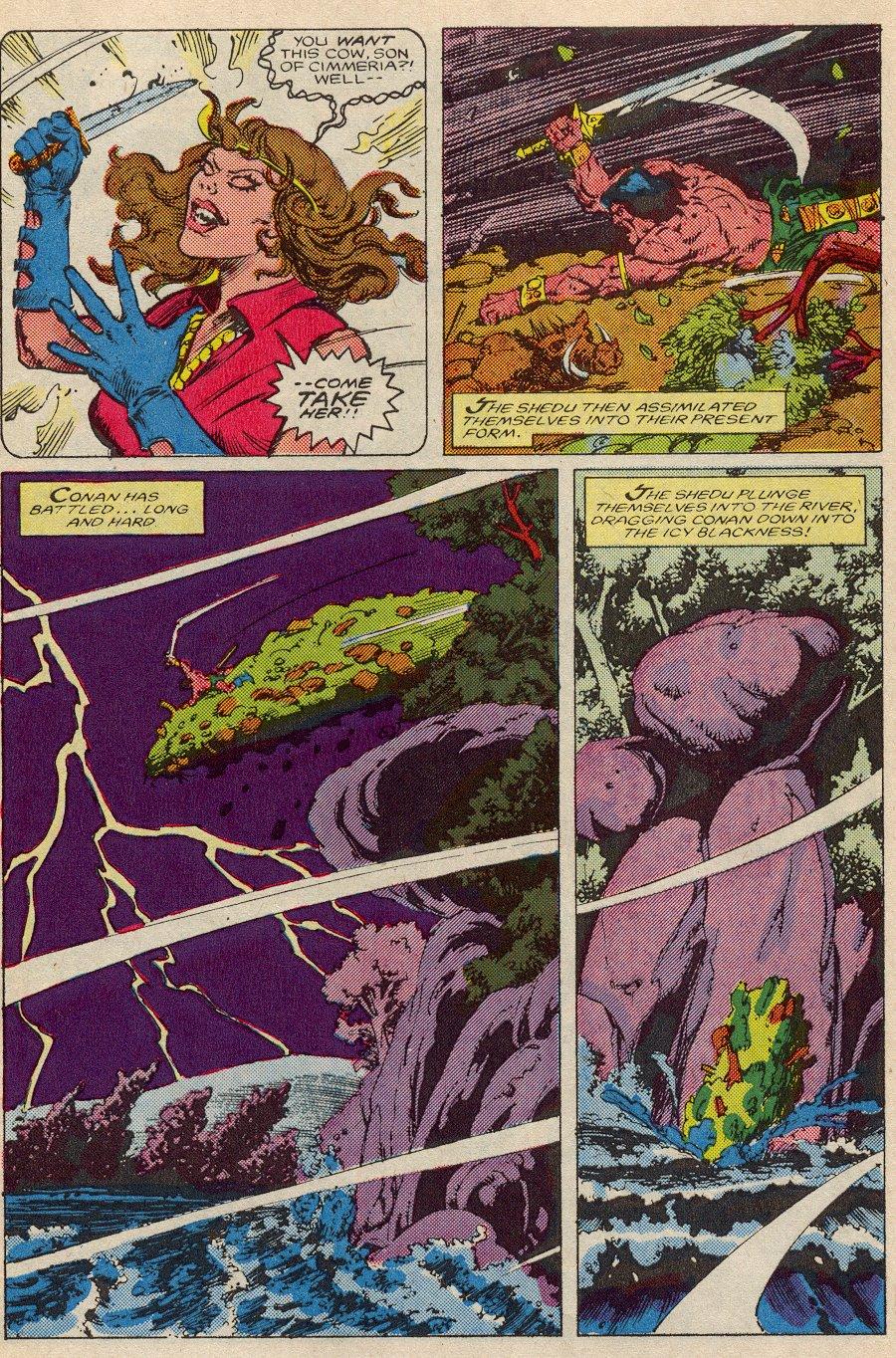 Conan the Barbarian (1970) Issue #194 #206 - English 5