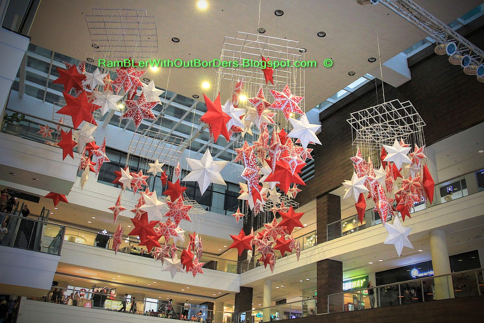 Rambler without borders landmark and glorietta for Christmas decorations online shopping