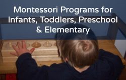My Affordable Montessori 0 to 9 Programs!