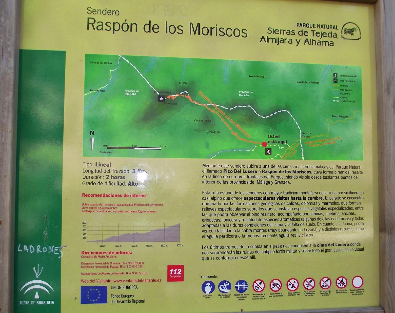 Senderismo en Granada: Pico del Lucero