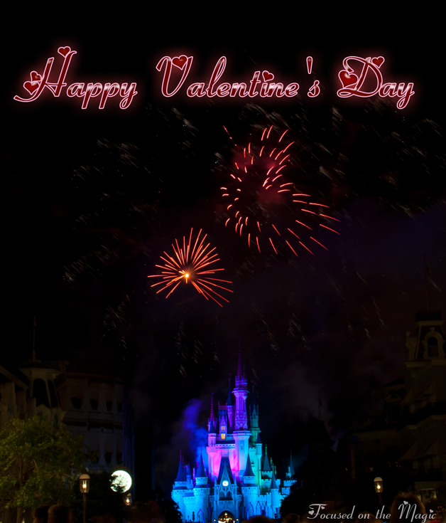 Happy Valentine's Day Photo  Focused on the Magic