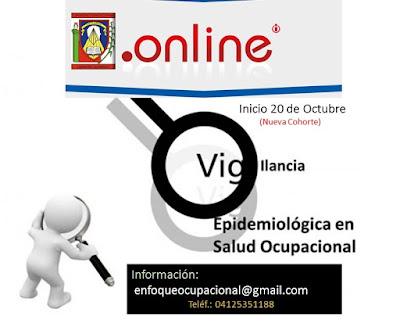 salud laboral, vigilancia epidemiologica