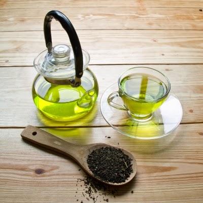 الشاي الخضر يحرق الدهون بفاعلية.