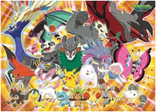 Pokemon XY Jigsaw Puzle Ensky 300 pcs