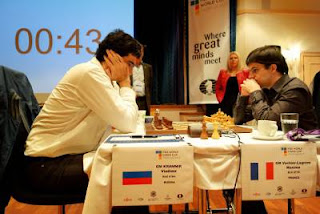 Echecs à Tromsø : Maxime Vachier-Lagrave 1/2 Vladimir Kramnik