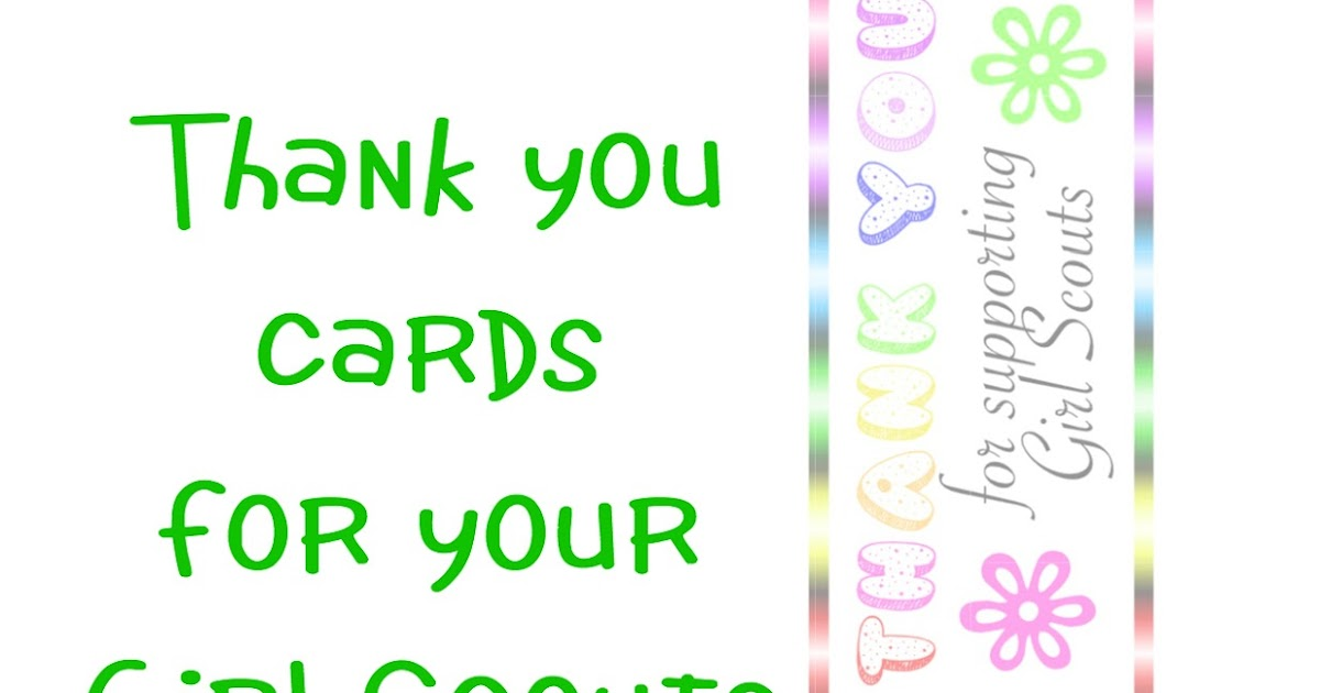 picture regarding Girl Scout Cookie Thank You Note Printable identified as Sowdering Pertaining to: Woman Scout Cookie Thank By yourself Playing cards