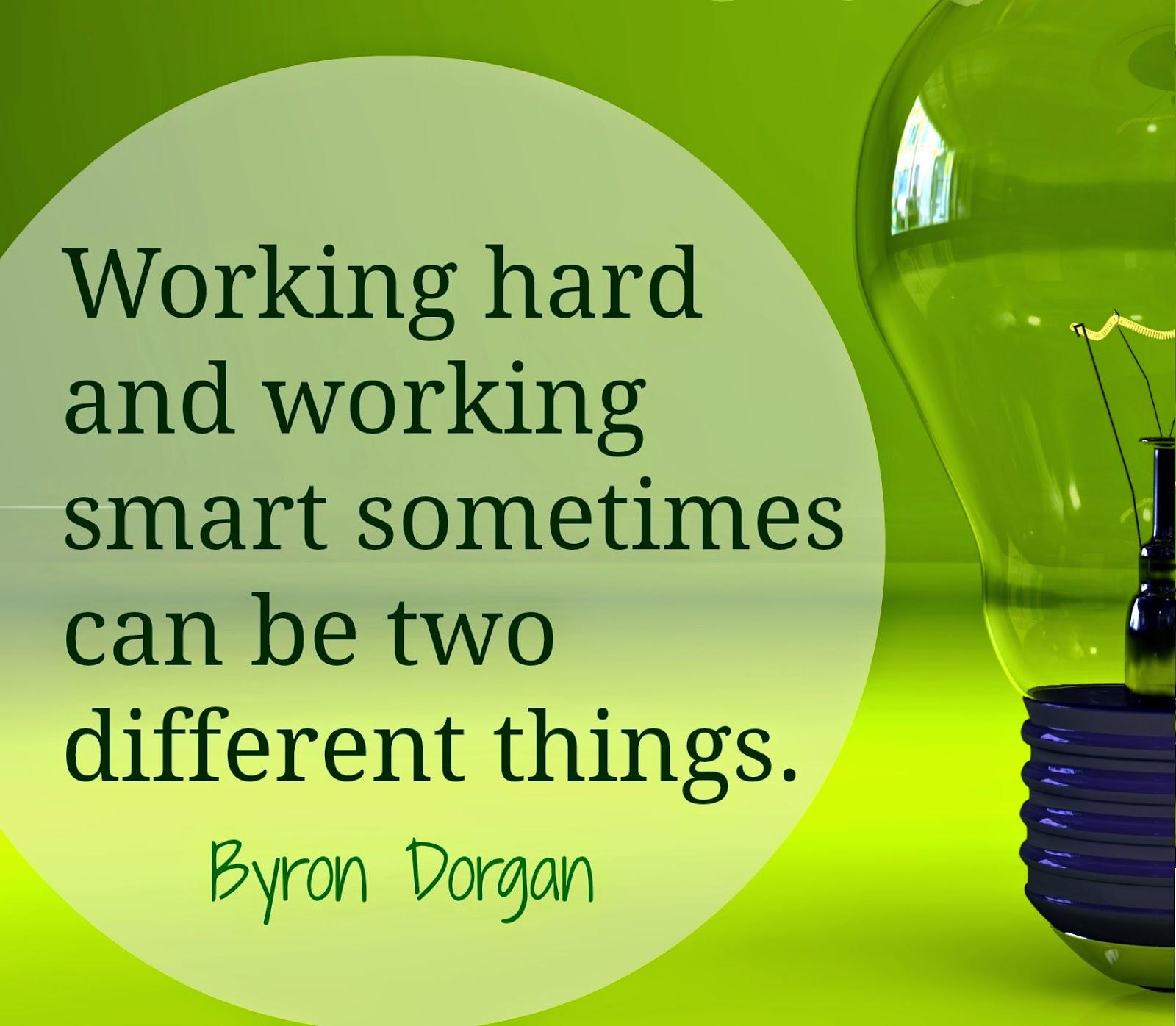 Hard-Work and Smart-Work