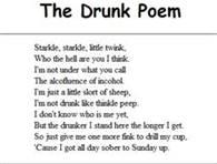 Funny Drunk Poem For Facebook Status