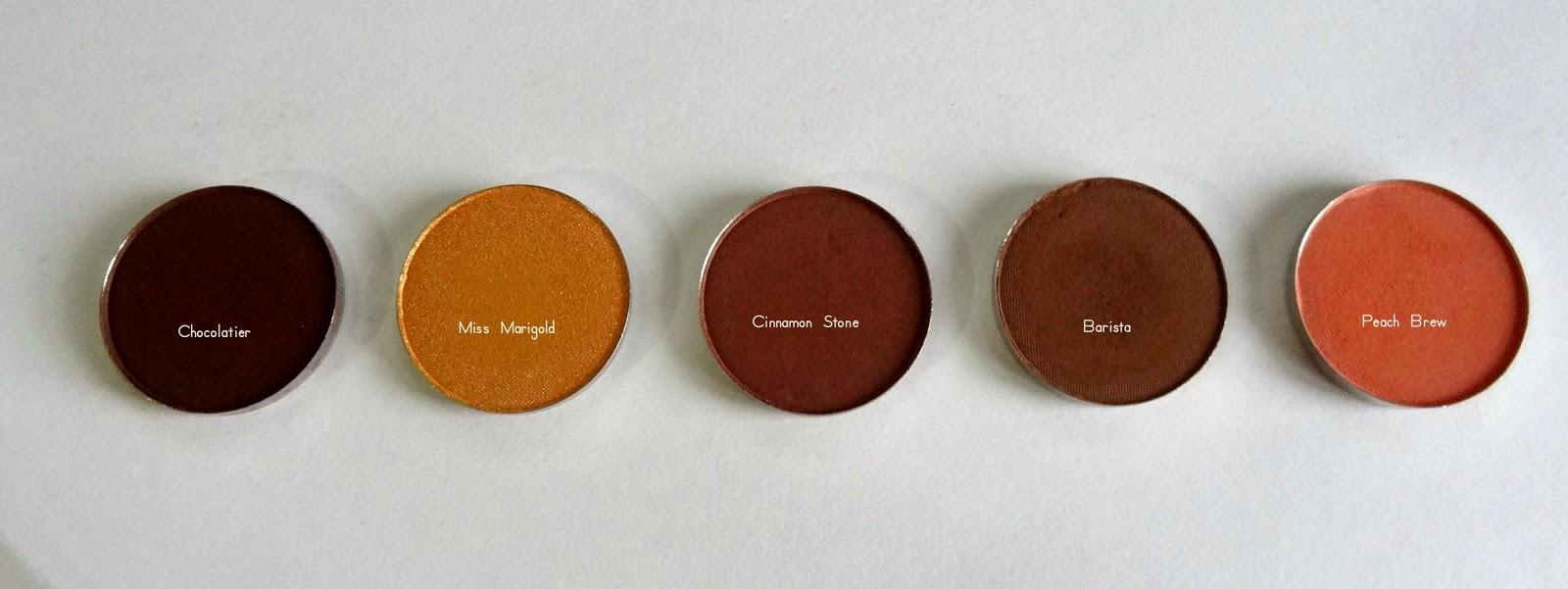 coastal scents hot pots haul Chocolatier,Miss Marigold,Cinnamon Stone,Barista,Peach Brew