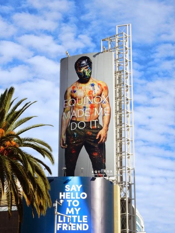 Equinox paintball billboard