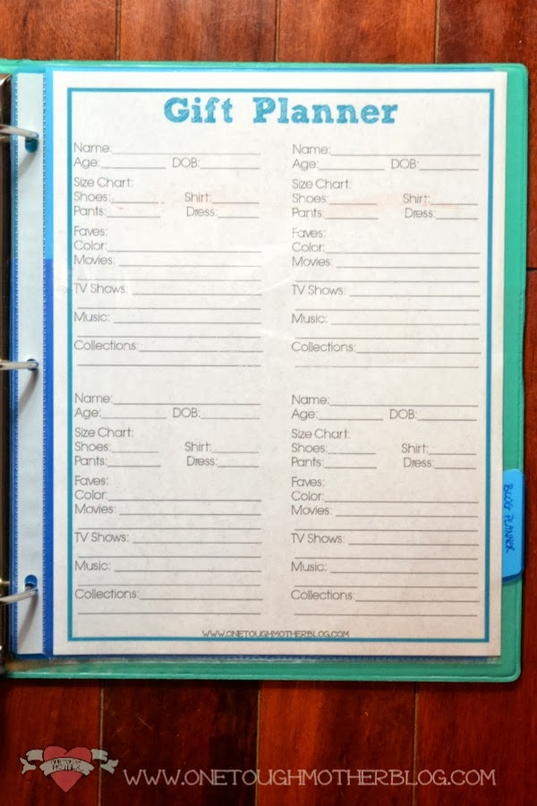 Build A Family Binder in #31Days www.sweetteaandsavinggraceblog.com