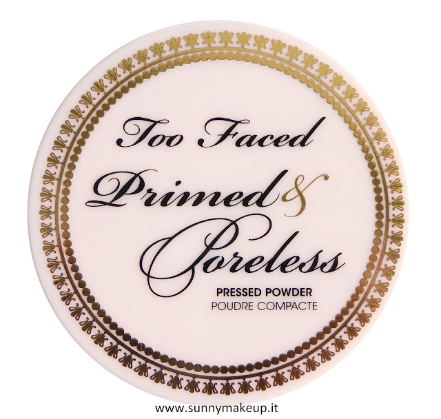 Too Faced - Primed & Poreless Powder. Cipria opacizzante.