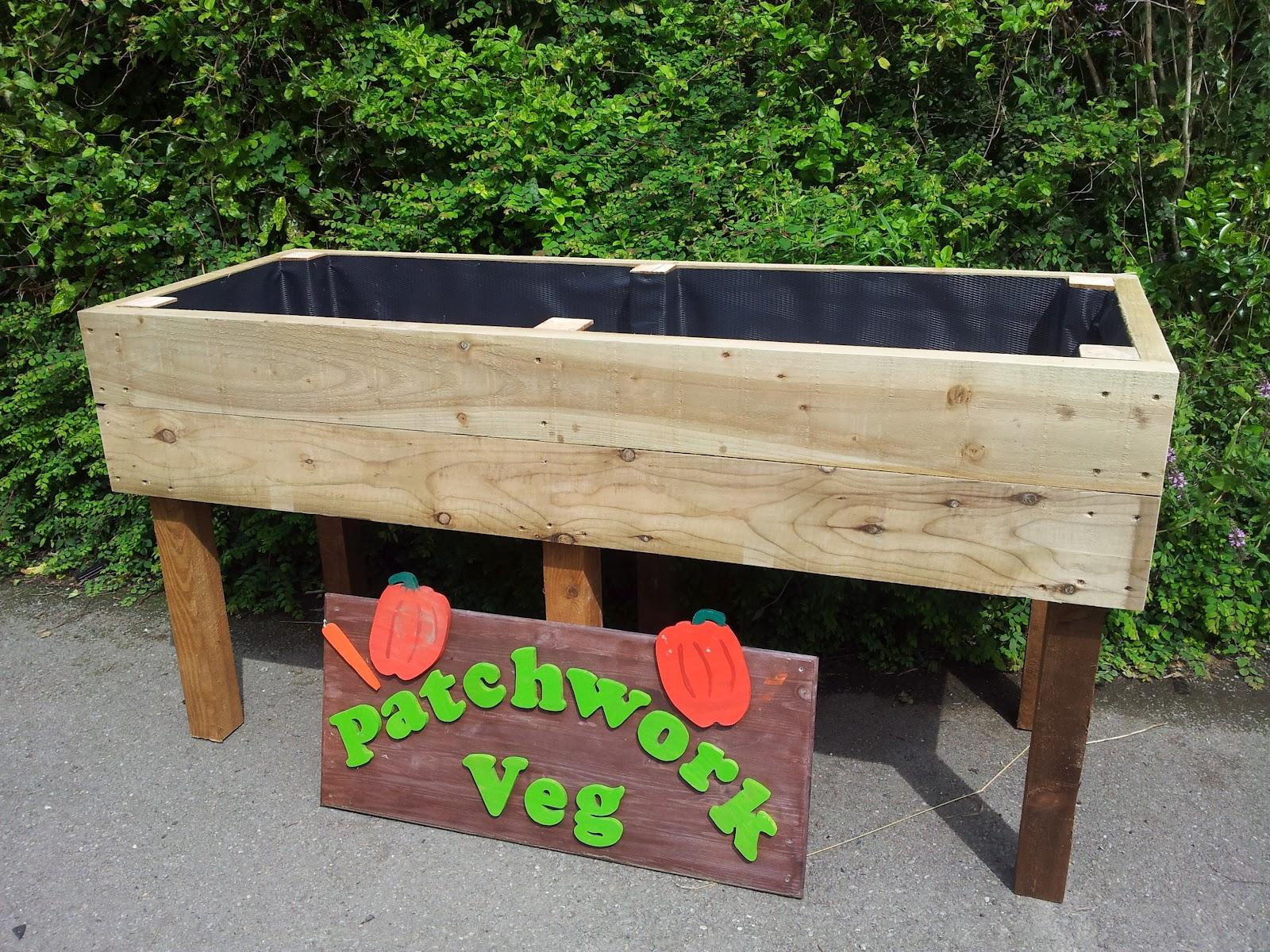 patchworkveg - gardeners vegetable growing website, premium raised