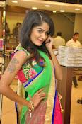 Anukruthi Glam pics in half saree-thumbnail-19
