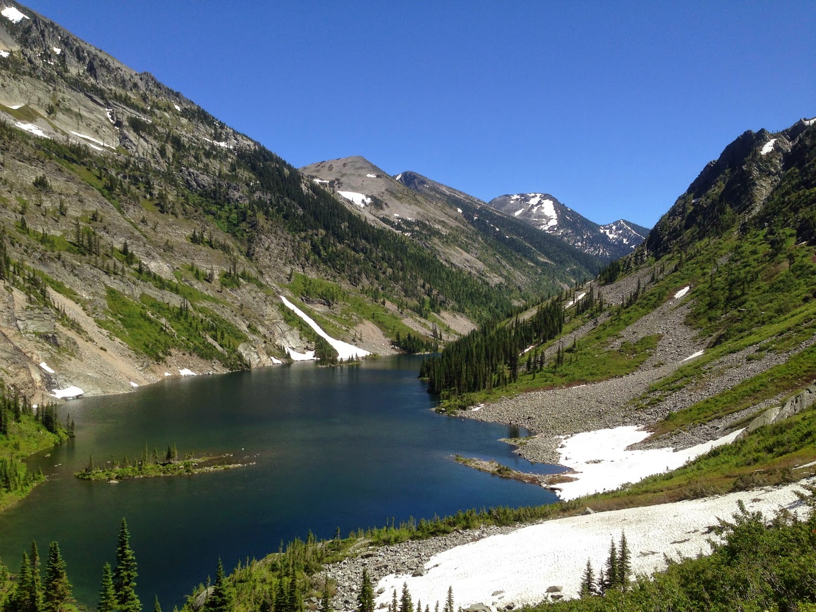 Rock Lake, Cabinet Mountains, Montana