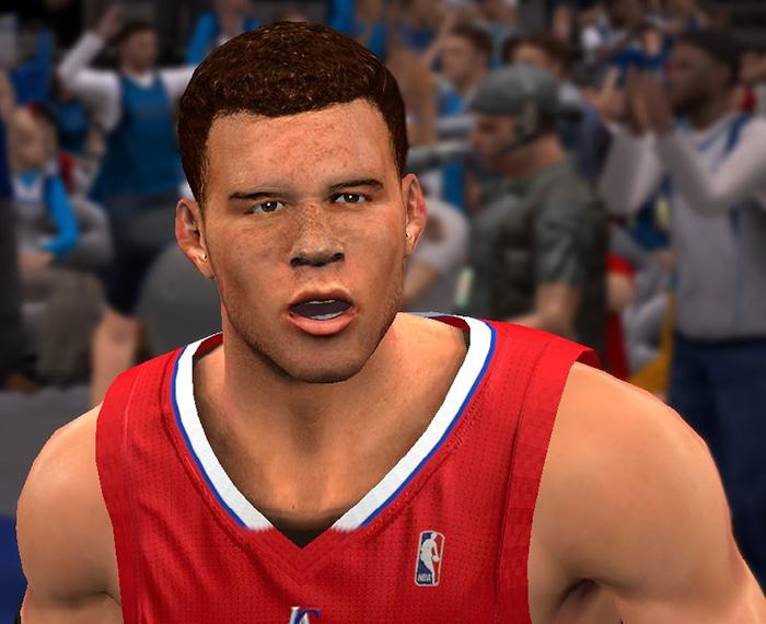 NBA 2K14 Blake Griffin Face Mod