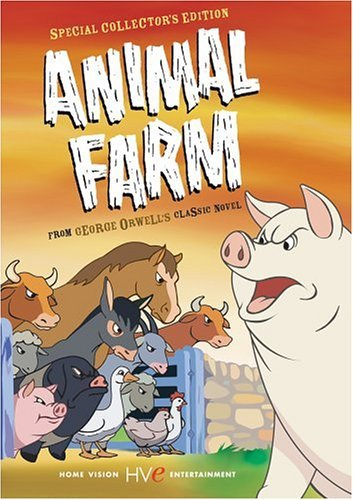 orwells view of human nature in animal farm Explain how animal farm is an allegory and the describe the process of how the pigs become more human-like and discuss what orwell believes about human nature.
