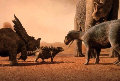 لماذا انقرضت الديناصورات ؟؟