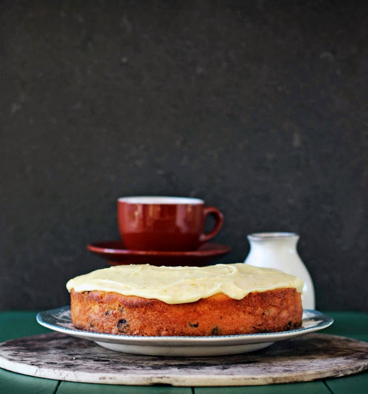 Milk and Honey: Orange and Walnut Cake with Dark Chocolate Chips
