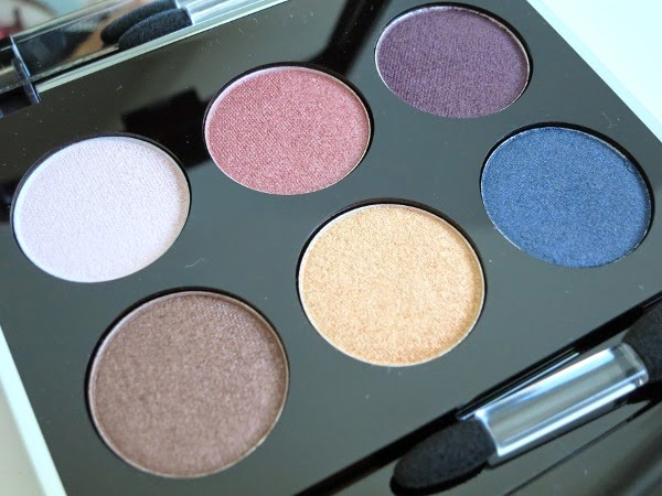 Lise Watier Aurora Winter 2014 collection Palette Aurora Eyeshadows