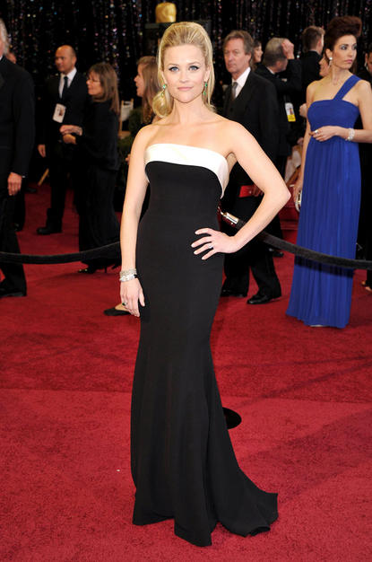 reese witherspoon oscars hair 2011. Reese Witherspoon in Giorgio