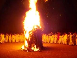 Holi Festival celebration in Malvan