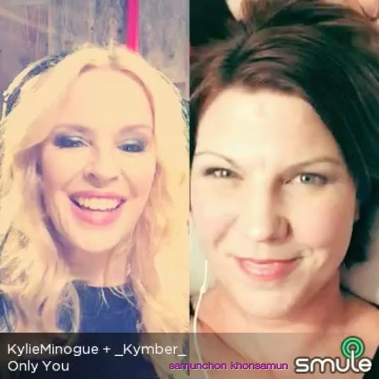 Only You_ Kylie Minogue+Kymber_Partner Artists Smule