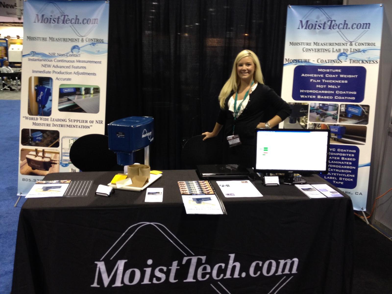 MoistTech Booth