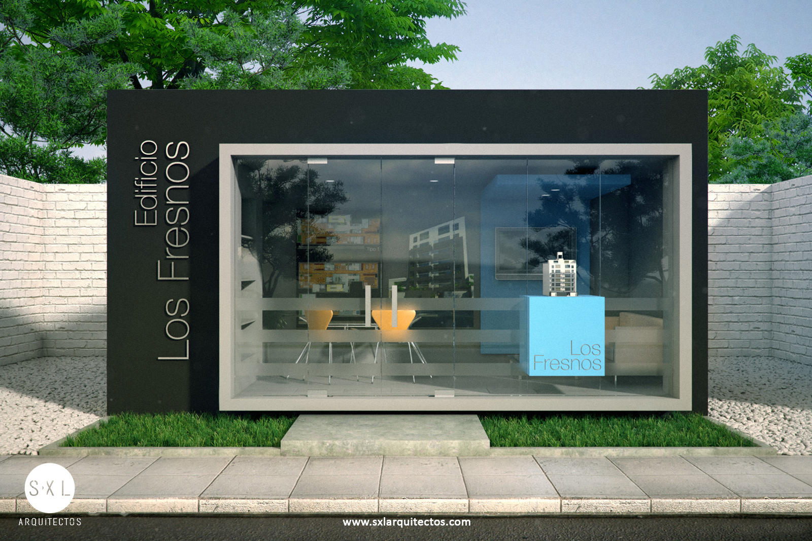 S xl arquitectos - Caseta de plastico para jardin ...