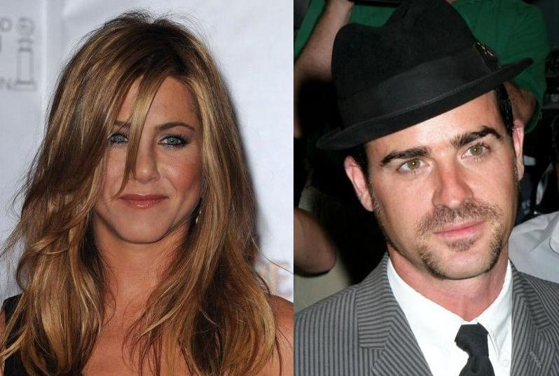 Jenifer Aniston and Justin Theroux