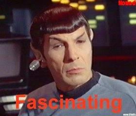 fascinating spock Star trek