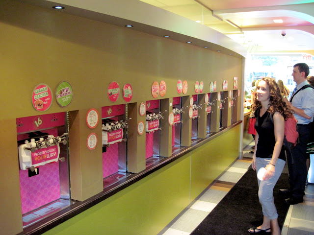 16 Handles lets those dining in New York have frozen yogurt your way