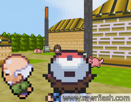 imagem jogo Pokémon3D 1
