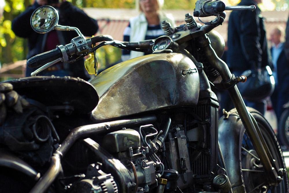 vw golf-powered custom motorcycle | fotoduda