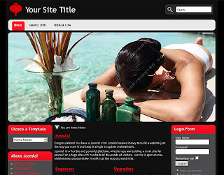 Relax and SPA Joomla Template