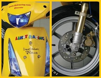 Modifikasi Motor Suzuki Spin Skuter Matik Racing 1.jpg