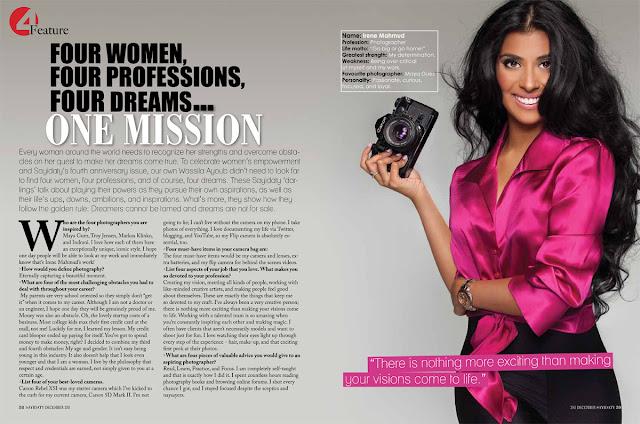 Sayidaty Magazine 4th Anniversary Issue!