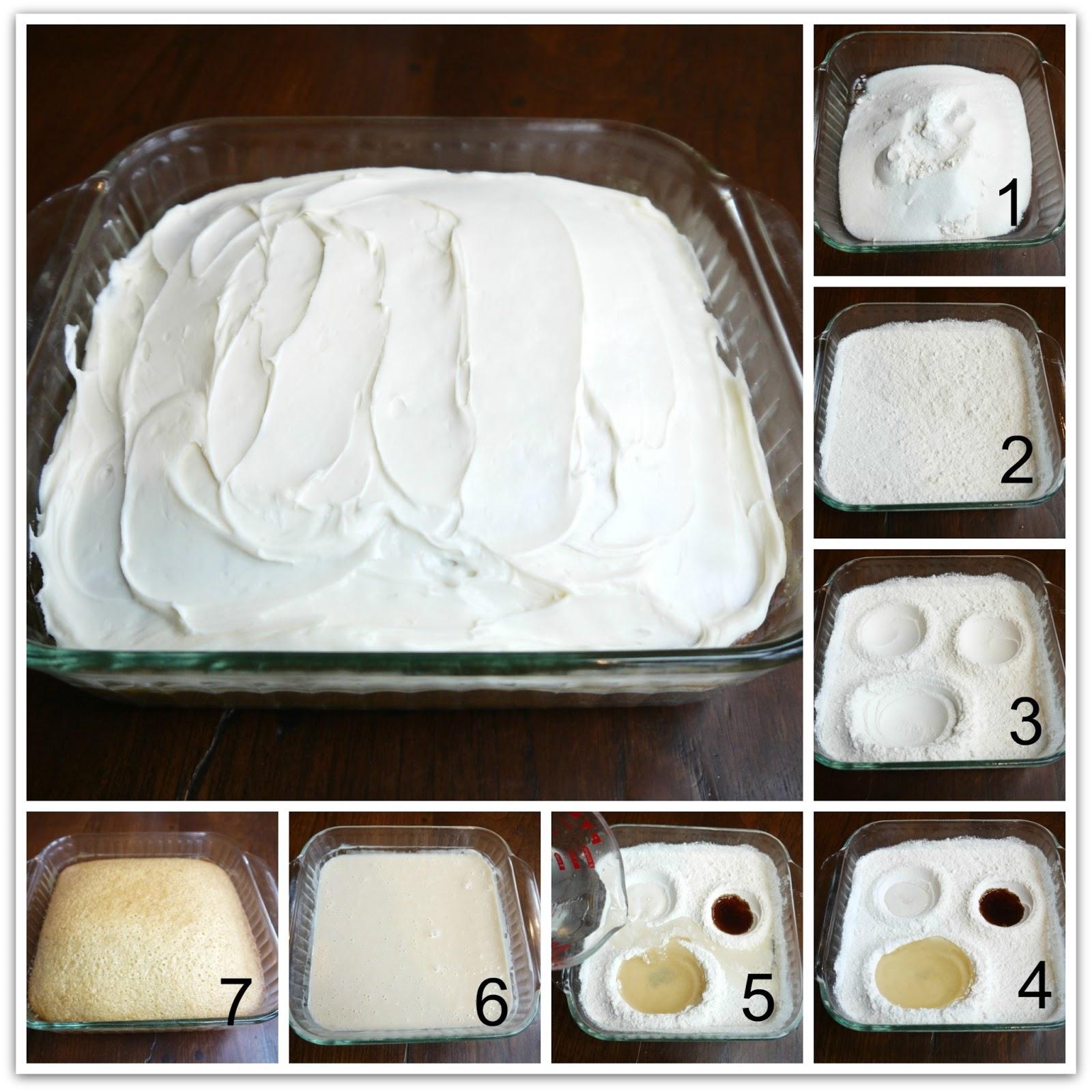 Wacky Cake Vanilla Recipe