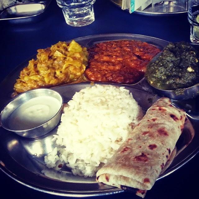 אוכל הודי מסורתי
