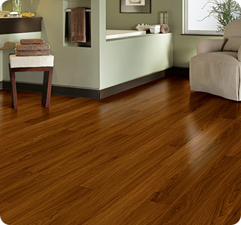 Gorgeous and durable vinyl plank floors.