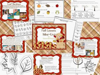 http://www.teacherspayteachers.com/Product/Fall-Leaves-Mini-Unit-953274