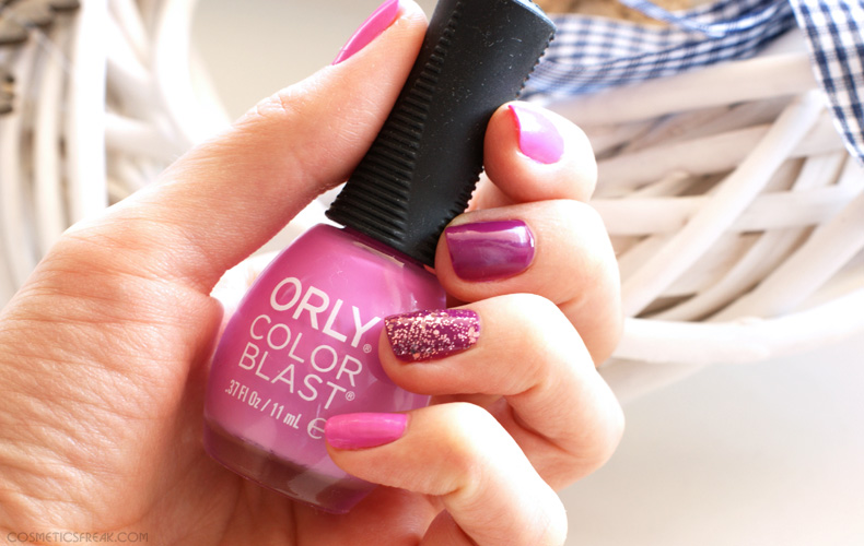 orly color bast lakier
