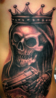 gangsta tattoo: King Death
