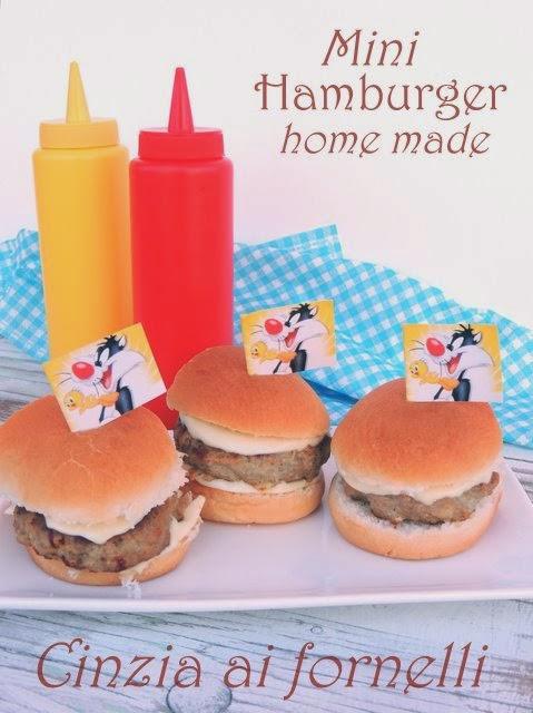 hamburger fatti in casa