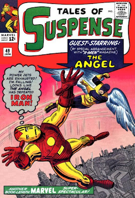 Tales of Suspense #49, Iron Man v the Angel