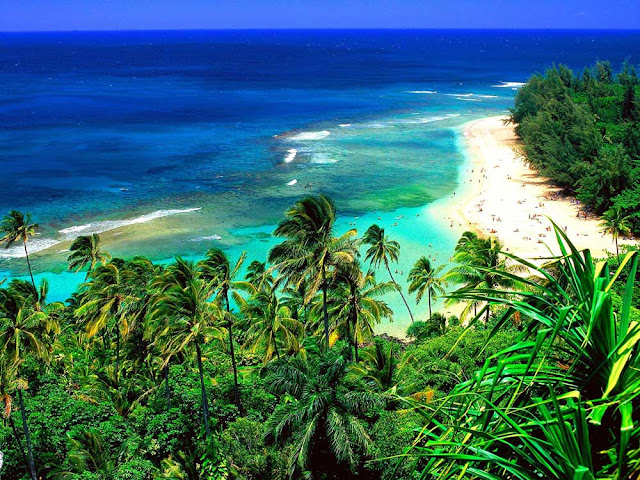 kee beach image