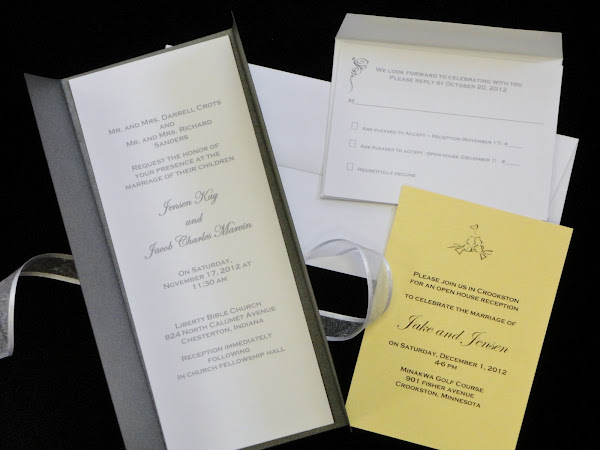 Wedding Invitation from CutCardStock Headquarters