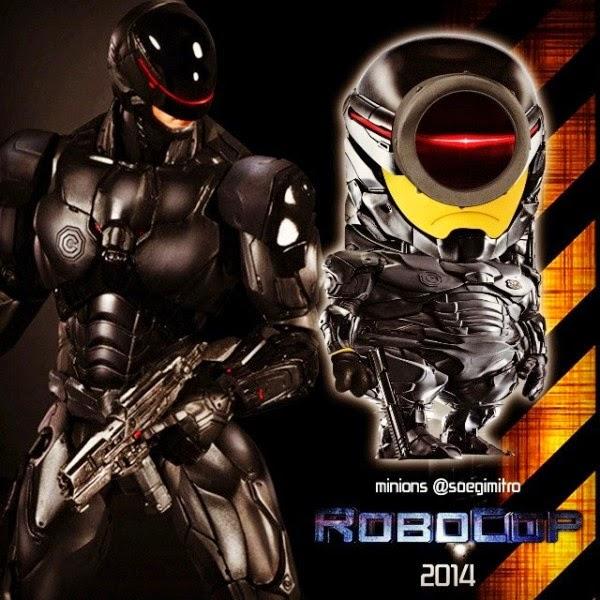 Minion Robocop
